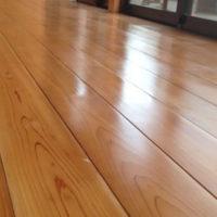 縁側木部の補修と塗装